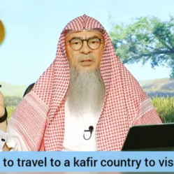 Is it permissible to travel to a non muslim country to visit relatives?