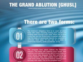 The grand ablution (Ghusl)