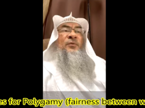 Rules of Polygamy - Fairness between wives