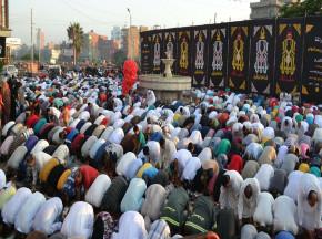 The Eid prayer