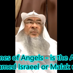 The Names of Angels : Is the name of Angel of Death Israeel or Malak ul Maut?