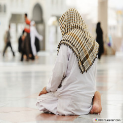 What is reprehensible in prayer